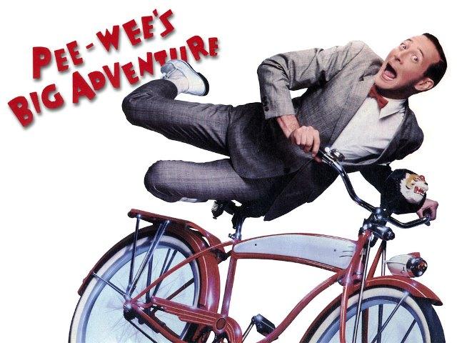 Paul Reubens en La gran aventura de Pee-Wee.