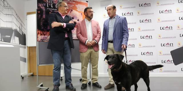 Presentación de la Exposición Canina Internacional de León (Foto: Ayuntamiento de León).