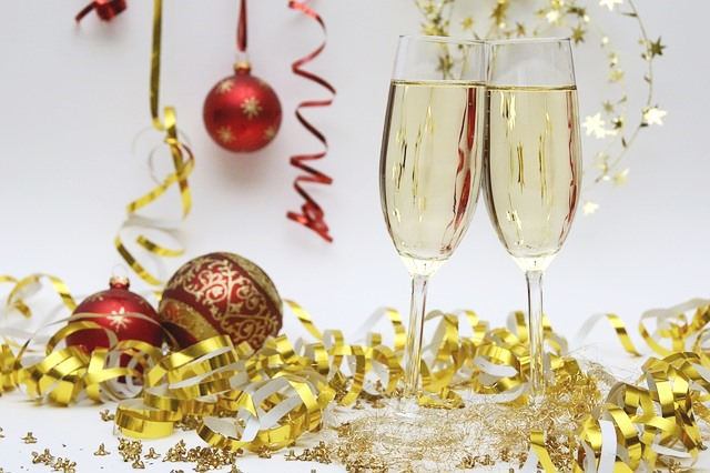 cava o champán en navidad