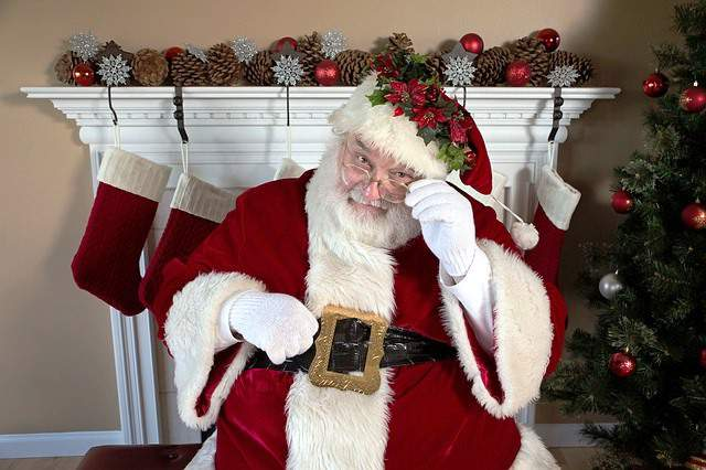 Papá Noel, icono de la Navidad.