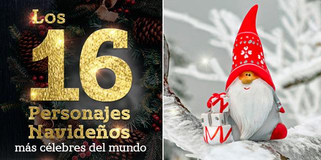 Los 16 personajes navideños del mundo