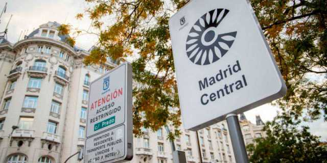 Madrid central reduce los coches que circulan por la capital