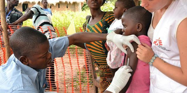 Médicos Sin Fronteras salvando vidas en África