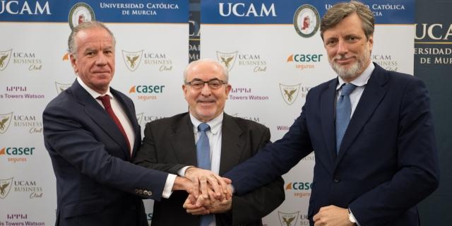 Caser firma un acuerdo de patrocinio con la Universidad Católica de Murcia UCAM