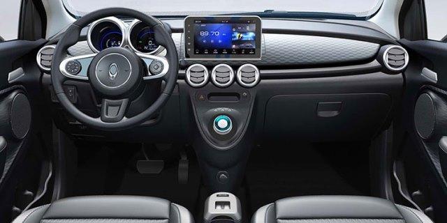 coche eléctrico low cost ORA R1 presentado en China (interior)
