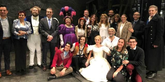 La obra de teatro de Los Miserables