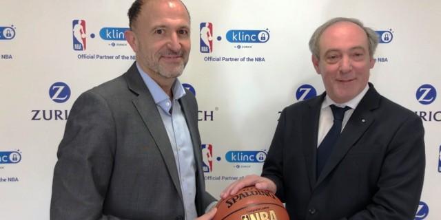 Acuerdo entre Zurich Seguros y la NBA