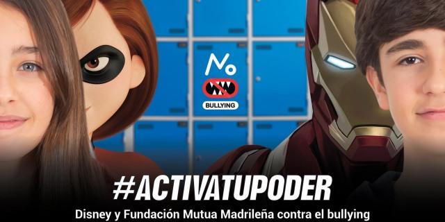 Fundación Mutua y Disney firman un acuerdo para luchar contra el bullying