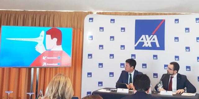 AXA presentando el VI Mapa del fraude al seguro