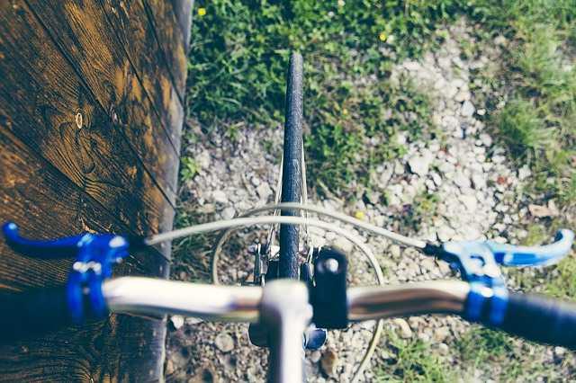 frenos de una bicicleta