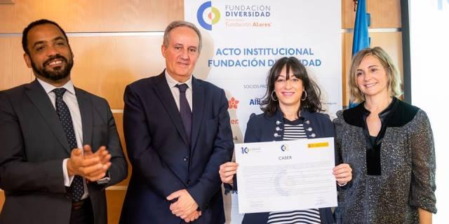 Caser se adhiere al Charter de la Diversidad