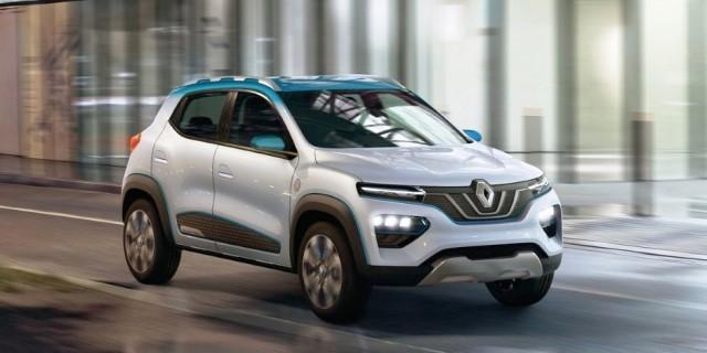 Renault K-ZE VISTA FRONTAL