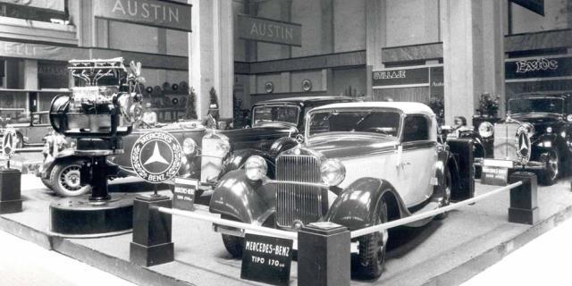 foto de archivo salon barcelona 1933