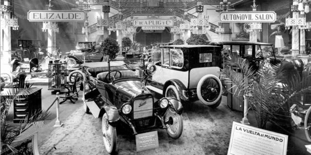 homenaje a la historia del salon Automobile de Barcelona