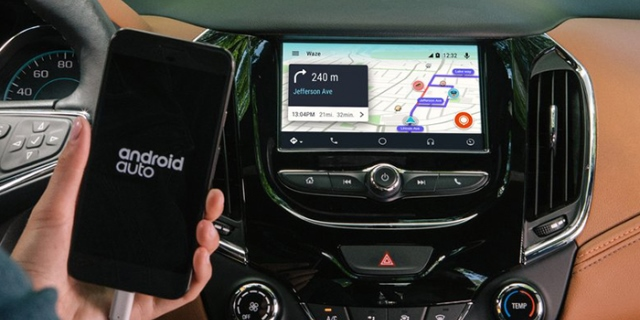 GPS Android Auto