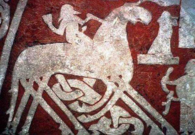 Odin con Sleipnir