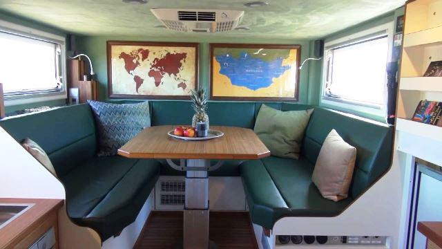 interior de camper unicat