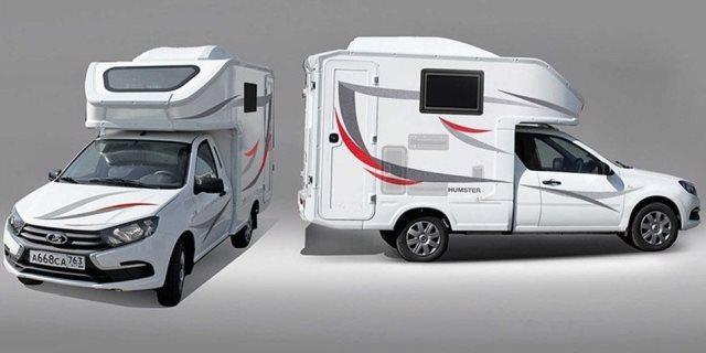 autocaravana Humster con la que Rusia entra en el mercado de las autocaravanas compactas
