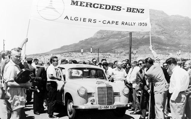 Mercedes Benz compitiendo en 1959 (Foto: ©Daimler AG)