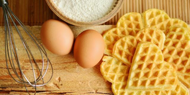 huevos con tortitas