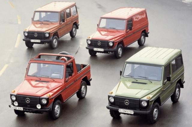 modelos diferentes Mercedes Clase G