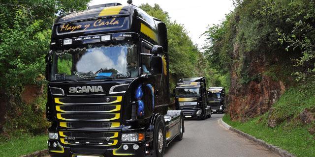 tractoras transporte mercancias