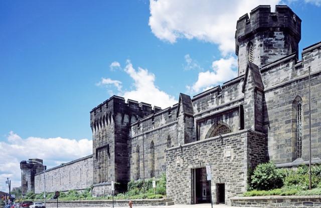 Exterior de la Eastern State Penitentiary