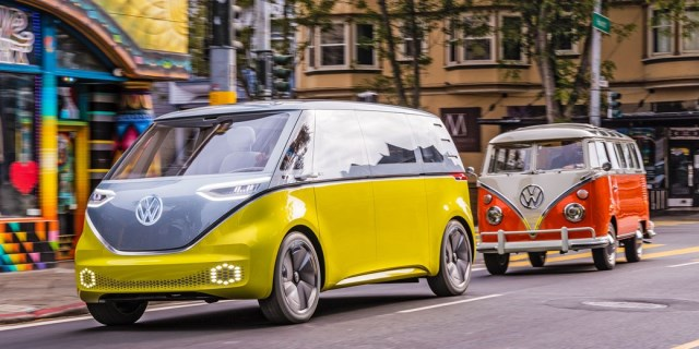 VW ID Buzz y el VW T1