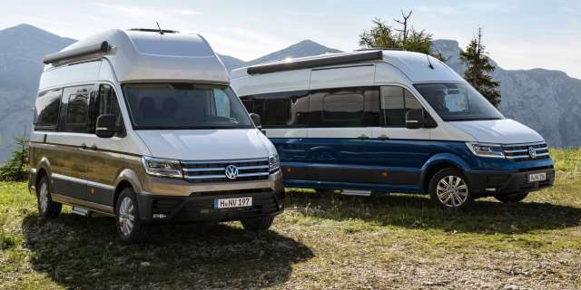camper con motores eficientes Volkswagen