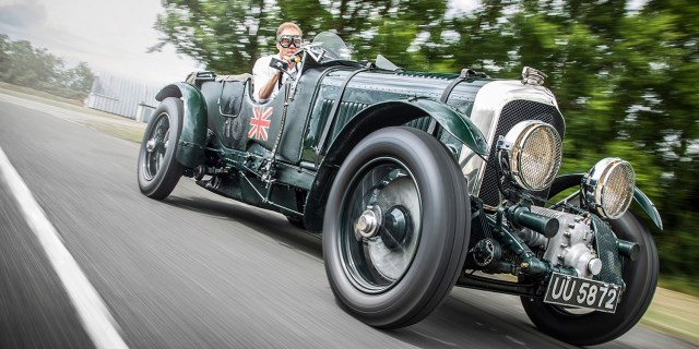 Bentley Blower a todo gas