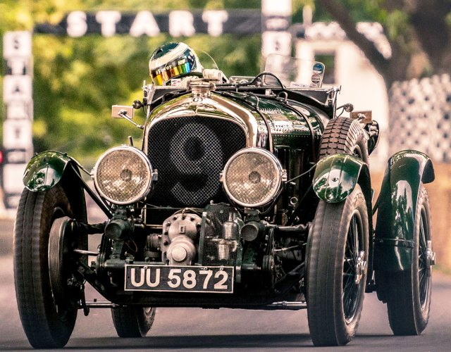 Bentley Blower en circuito