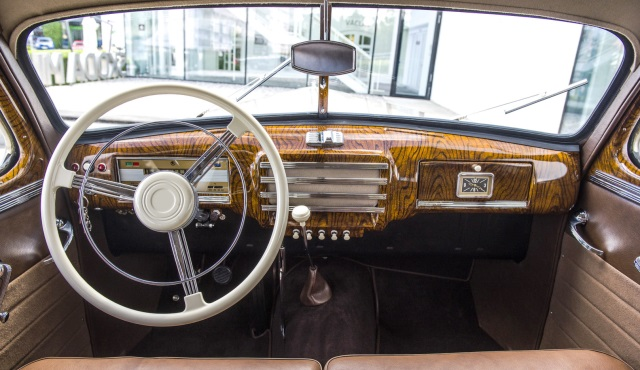 Interior Skoda Superb de 1948