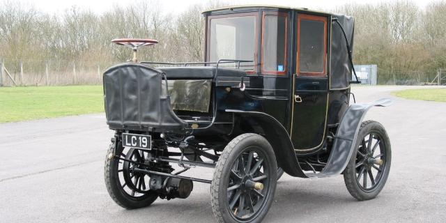 Entre los eléctricos más famosos Krieger Brougham de 1904