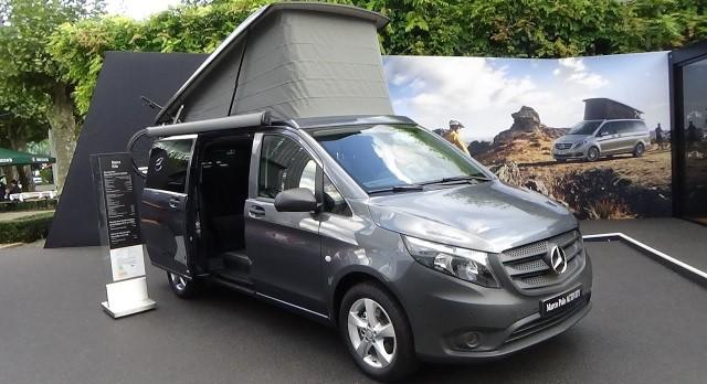 camper Mercedes vito tourer activity