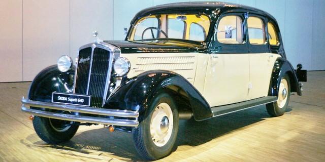 Skoda 640 de 1936