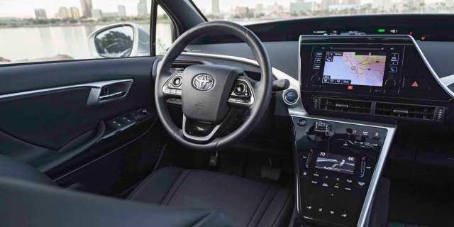 interior Toyota Mirai 2020