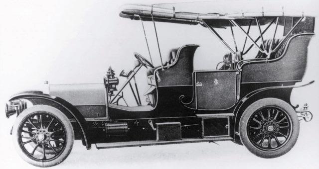 Skoda typ FF de 1907