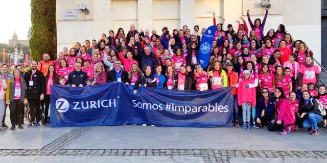 Las empleadas de Zurich han vuelto a ser el mejor ejemplo de compromiso con su participación masiva en las 8 pruebas de la Carrera de la Mujer cele...