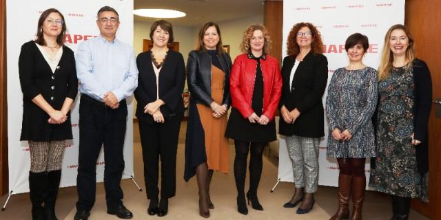 Firma Pacto Igualdad MAPFRE con CCOO y UGT