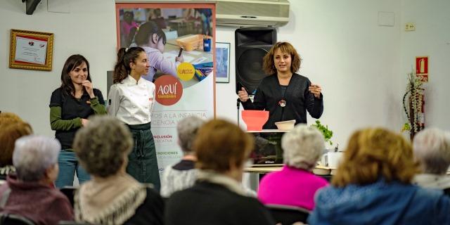taller de DKV y Ayuda en Acción