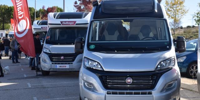 Vehículos de Fiat en la Madrid Caravaning de Xanadú