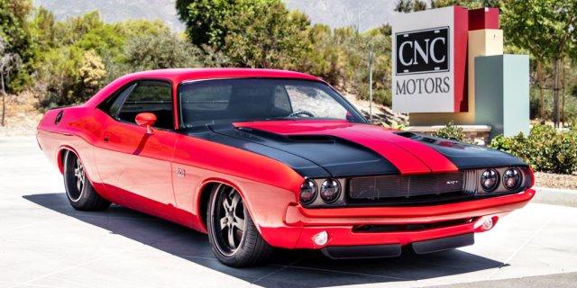 Dodge Challenger Resto-mod