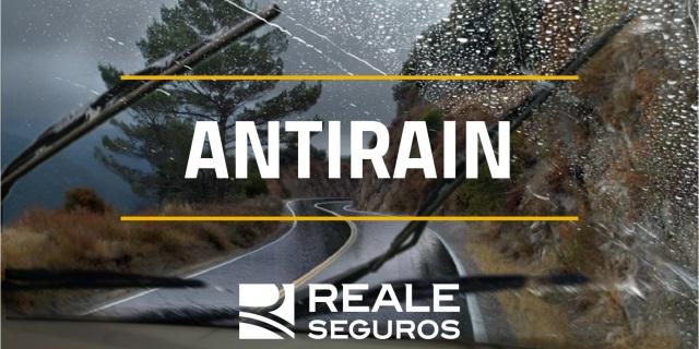 tratamiento antirain para clientes del ramo de autos de REALE SEGUROS