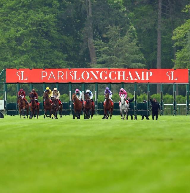 caballos de Longchamp