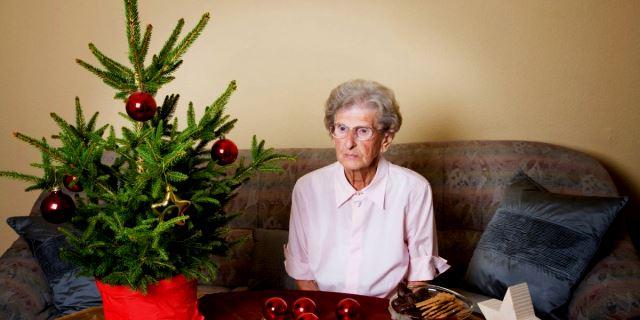 soledad en Navidad