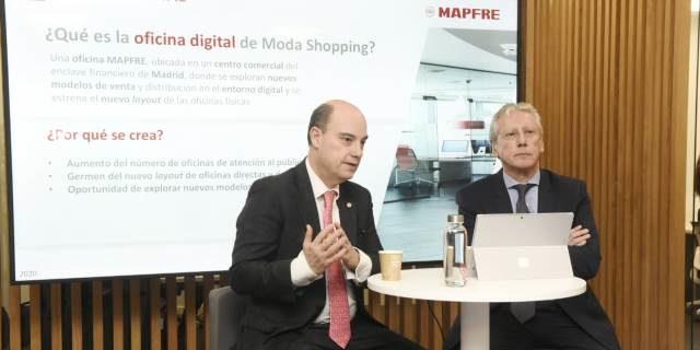 inauguración de la primera oficina digital de MAPFRE 3.0