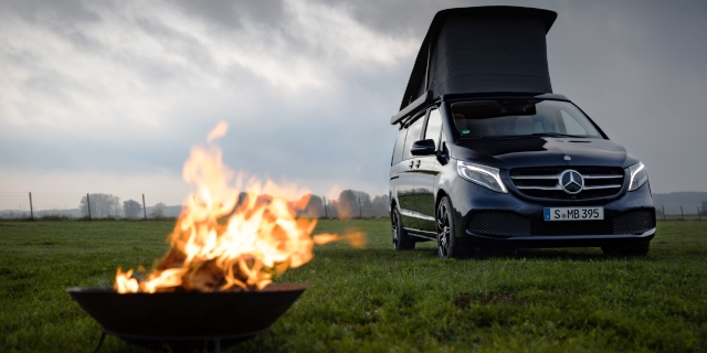 "Marco Polo y James Cook: La ""inteligencia"" llega a las camper de Mercedes-Benz"