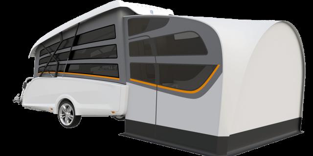 caravana plegable