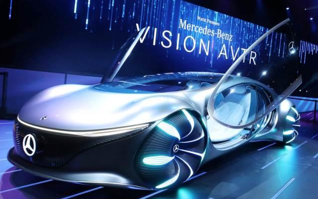 Mercedes-Benz VISION AVTR: La movilidad del futuro ya está aquí