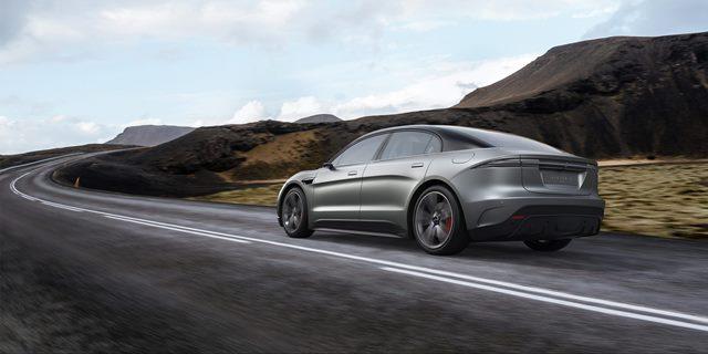 vision-s coche eléctrico de sony